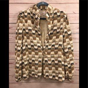 DK Gold of DonnKenny Vintage 80's Blazer Jacket